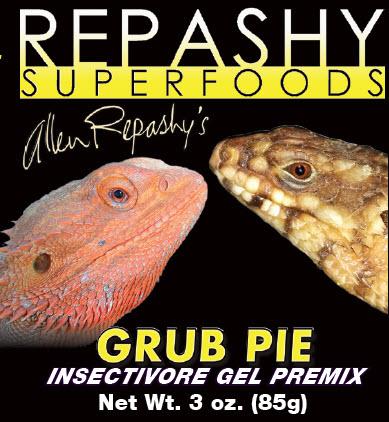 Élevages Lisard - Repashy Grub Pie Reptile