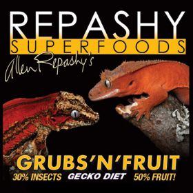 Élevages Lisard - Repashy Grubs'N'Fruit Gecko Diet